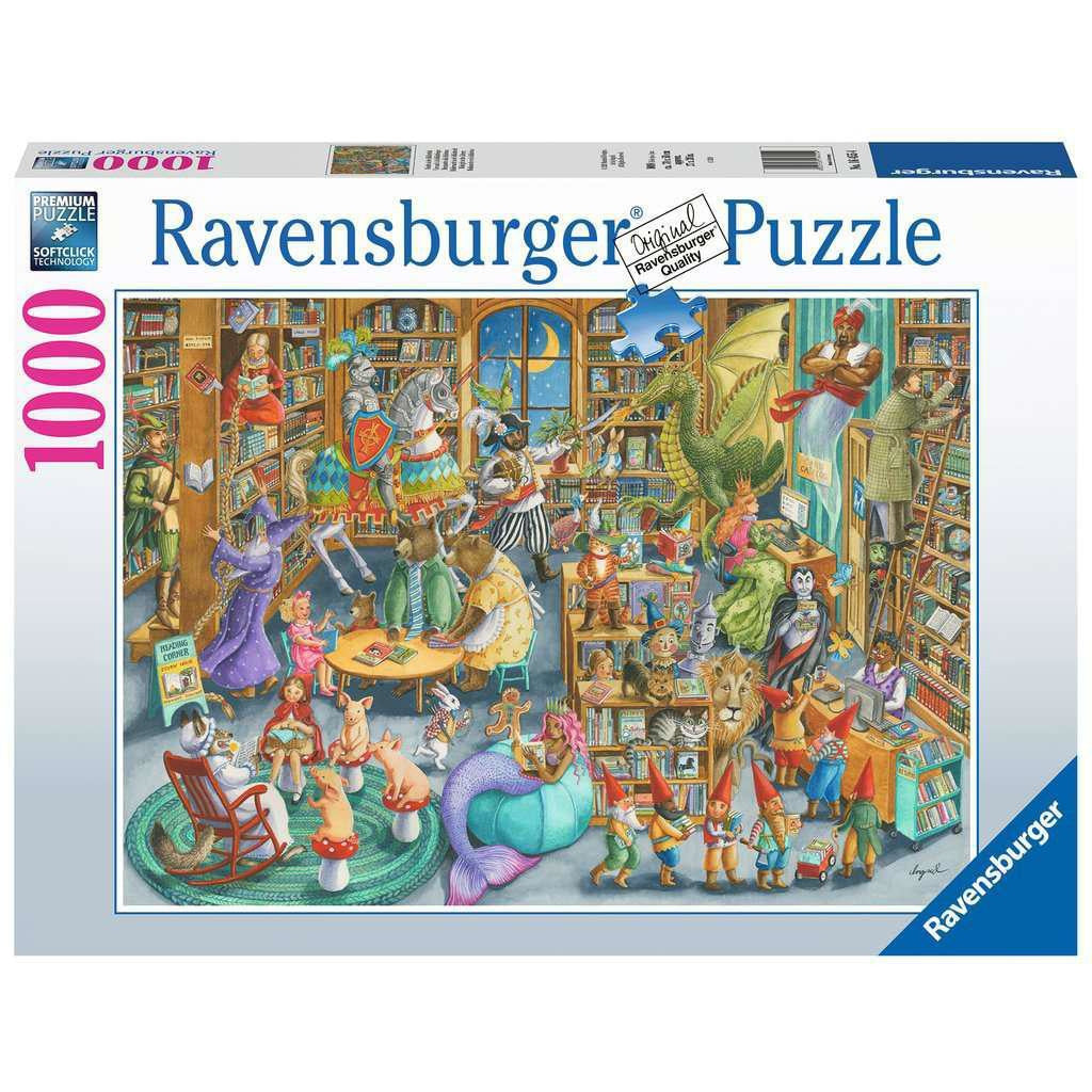 MIDNIGHT AT THE LIBRARY 1000 PIECE PUZZLE
