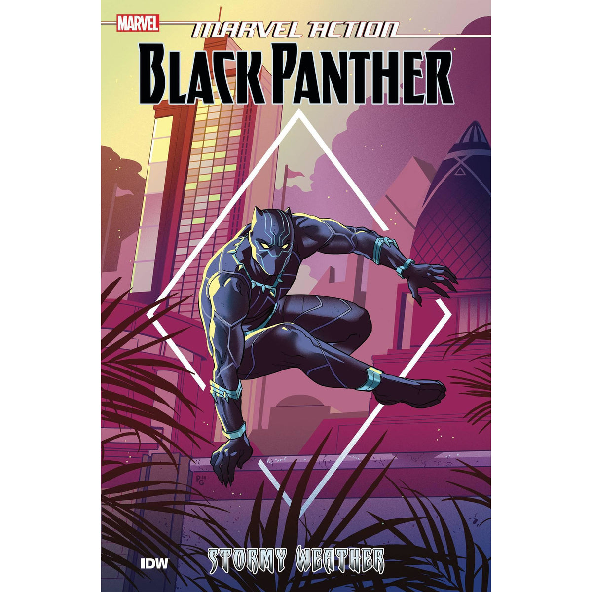 MARVEL ACTION BLACK PANTHER: BOOK 1 STORMY WEATHER