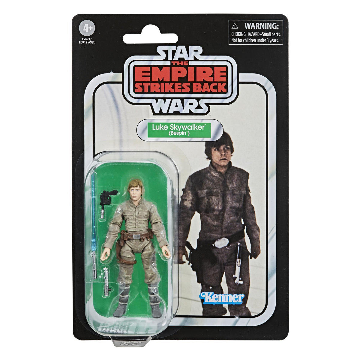 STAR WARS VINTAGE COLLECTION - LUKE SKYWALKER BESPIN ACTION FIGURE - KENNER HASBRO