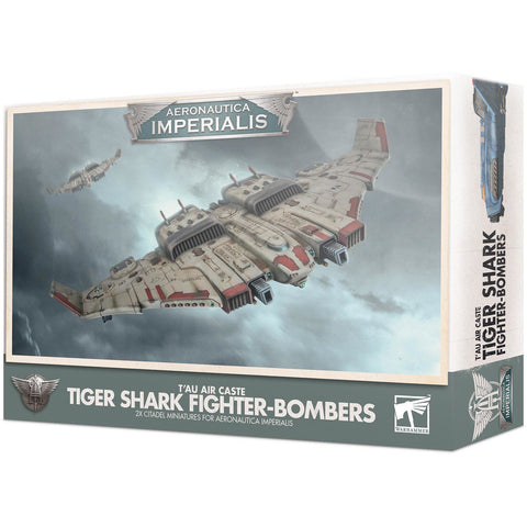 AERONAUTICA IMPERIALIS - TIGER SHARK FIGHTER BOMBERS - WARHAMMER 40K