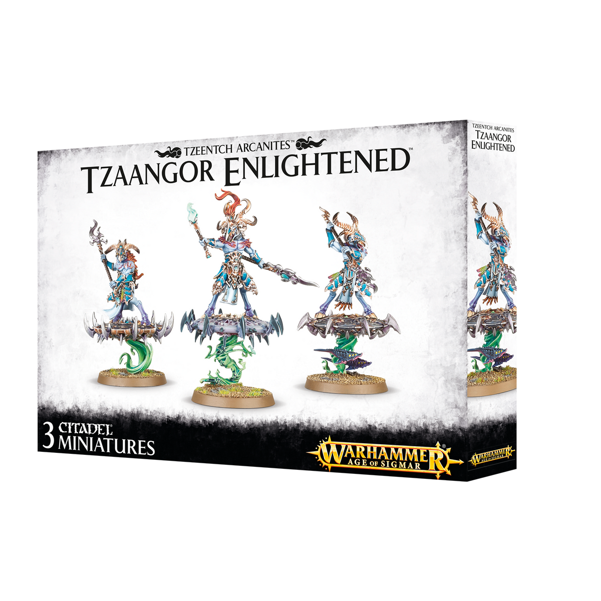 WARHAMMER AGE OF SIGMAR - DISCIPLES OF TZEENTCH - TZAANGOR ENLIGHTENED