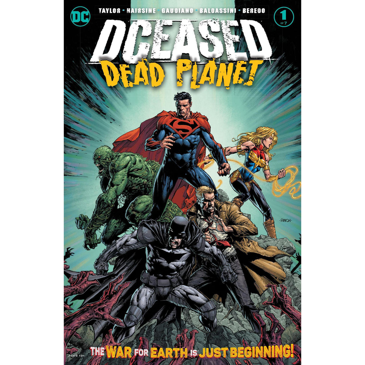 DC COMICS BUNDLE - 9 COMICS - NEW RELEASES - BATMAN SUPERMAN FLASH DCEASED AND MORE
