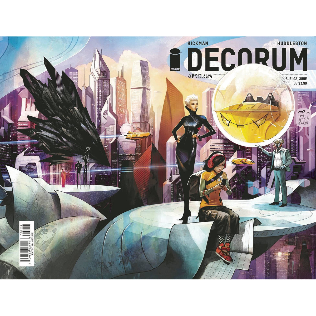DECORUM #2 - COVER B HUDDLESTON