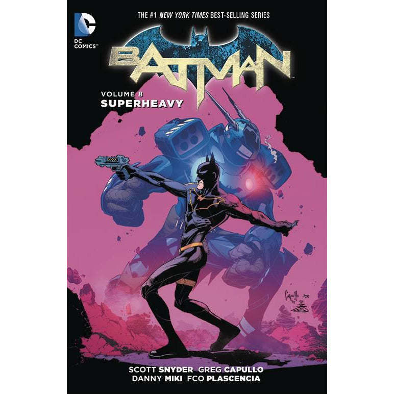 BATMAN VOLUME 8: SUPERHEAVY