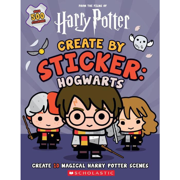 HARRY POTTER: CREATE BY STICKER - HOGWARTS ACTIVITY BOOK
