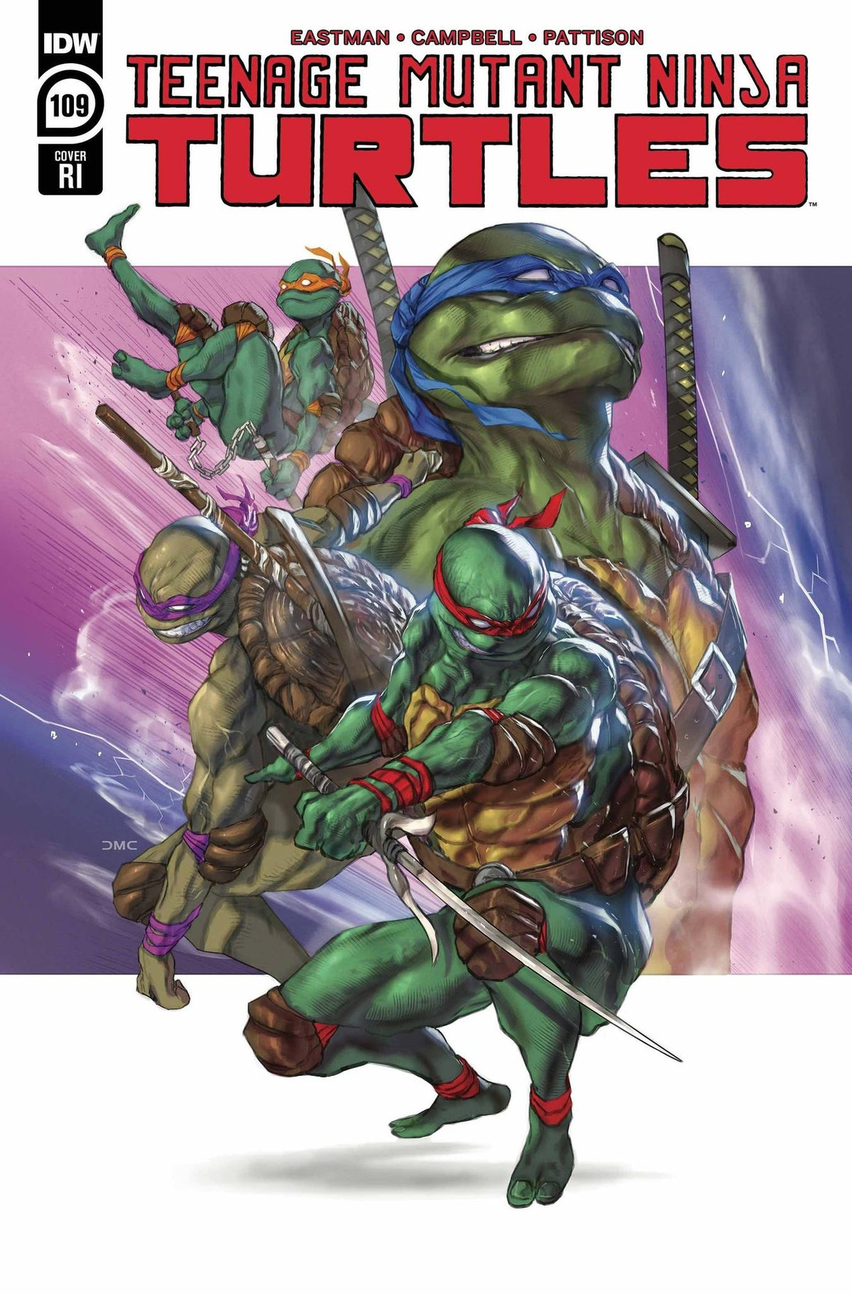 TMNT ONGOING #109 - 1:10 COPY INCENTIVE CHAVEZ