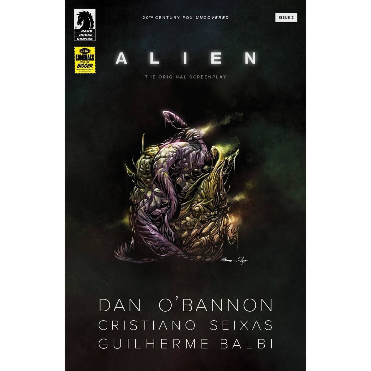 ALIEN ORIGINAL SCREENPLAY #2 (OF 5) COVER A BALBI