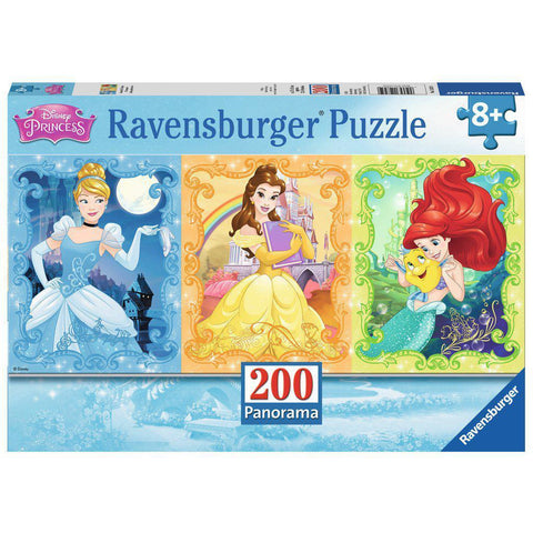 DISNEY PRINCESS 200 PIECE PANORAMA PUZZLE