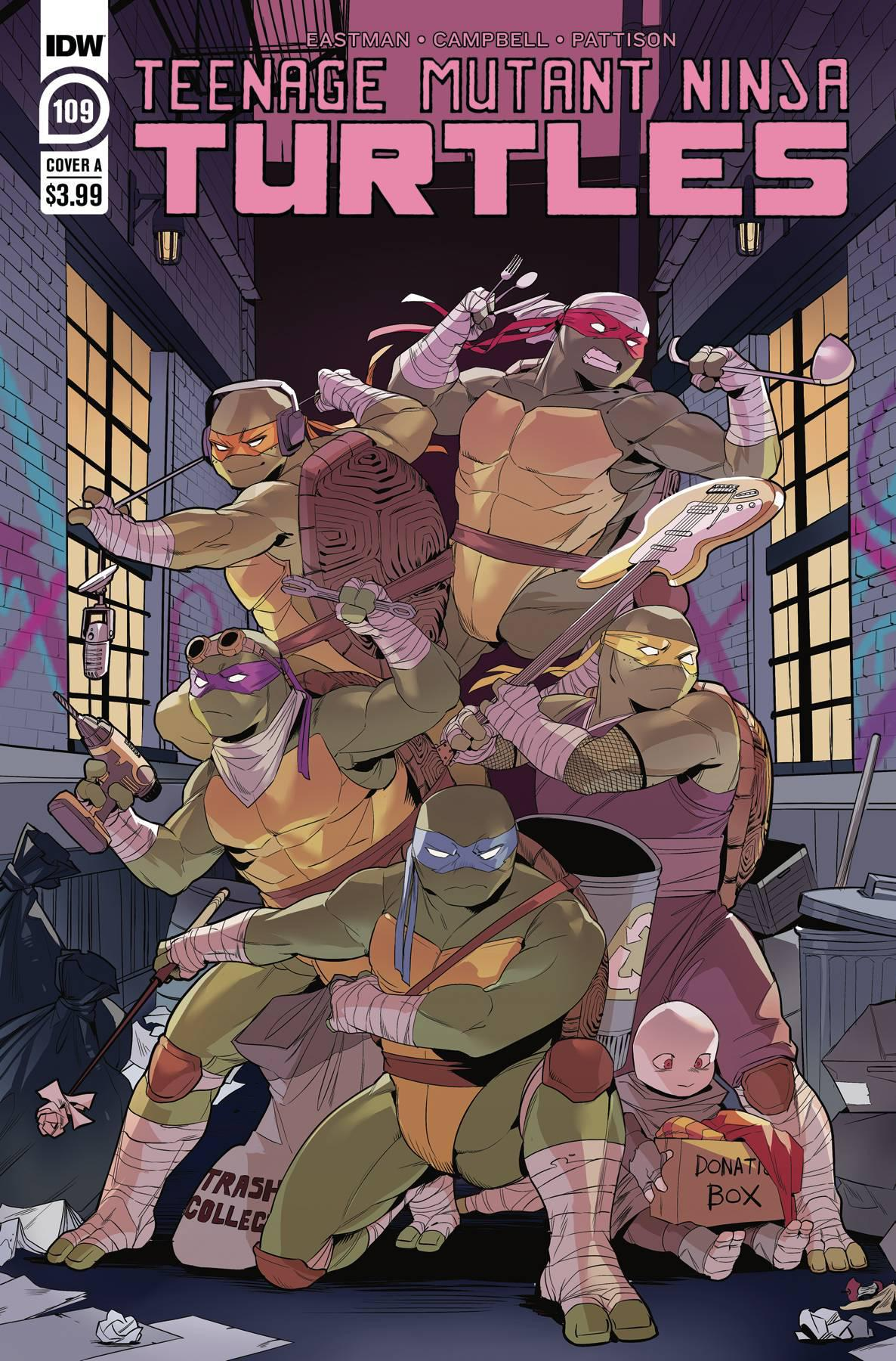 TMNT ONGOING #109 COVER A NISHIJIMA