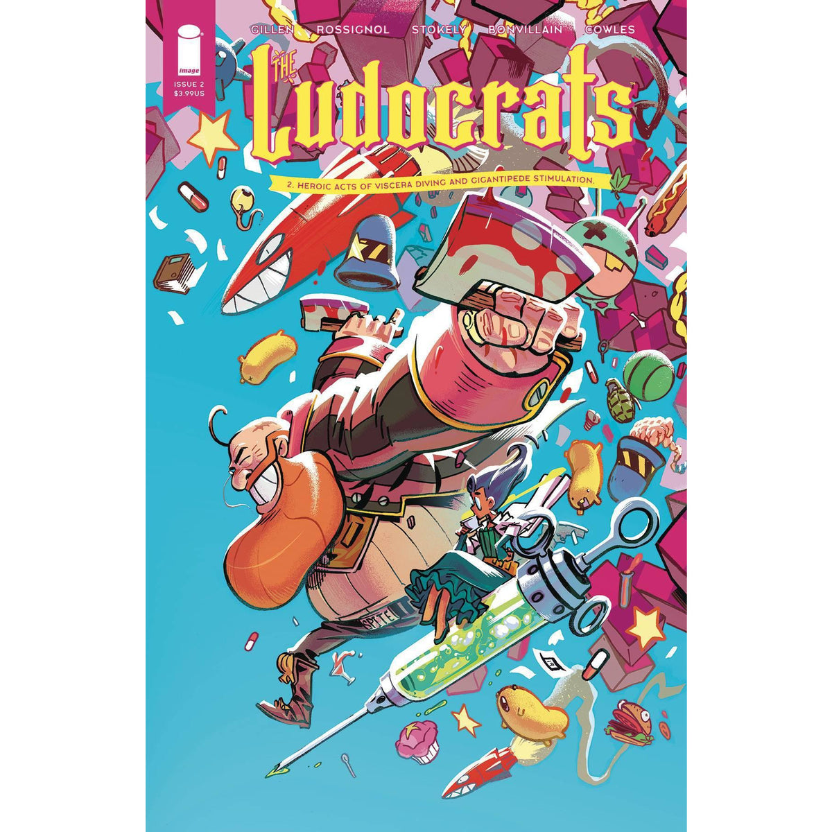 LUDOCRATS #2 (OF 5) - COVER A STOKELY