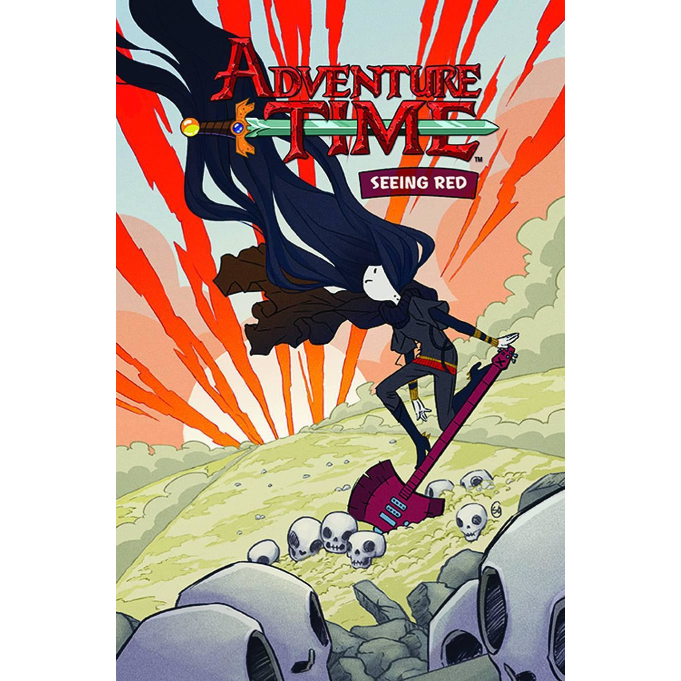 ADVENTURE TIME VOLUME 3: SEEING RED