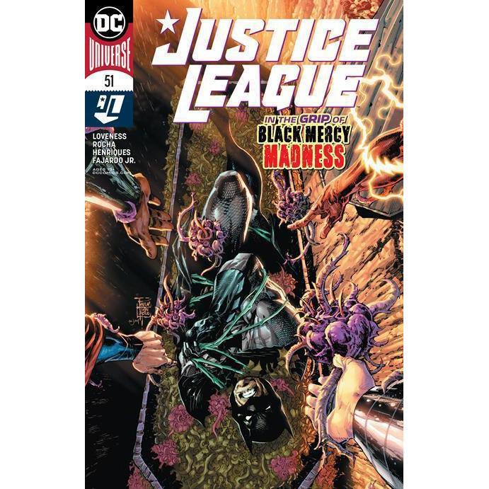 JUSTICE LEAGUE #51- FRANK COVER A