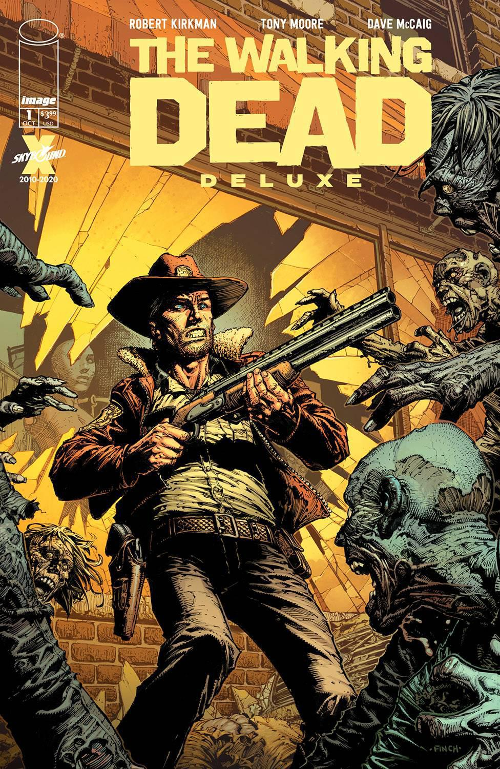 WALKING DEAD DELUXE #1 COVER A FINCH & MCCAIG
