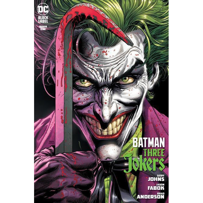 BATMAN: THREE JOKERS #1 - PICK YOUR COVER - 1:25 1:100 FABOK - DC COMICS