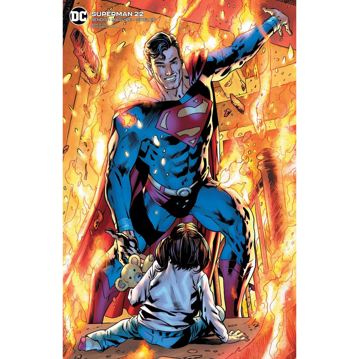 SUPERMAN #22 - BRYAN HITCH VARIANT COVER