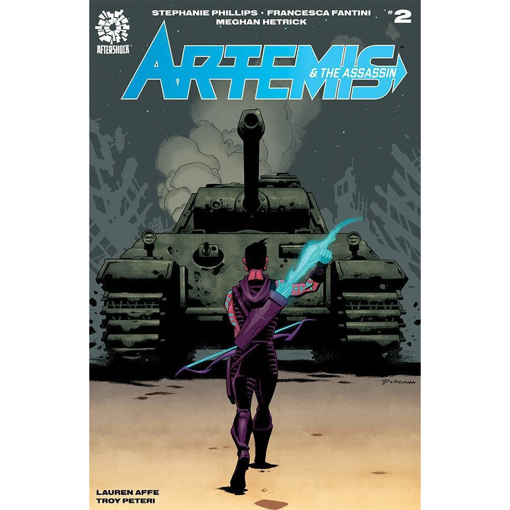 ARTEMIS & ASSASSIN #2 COVER A HESTER