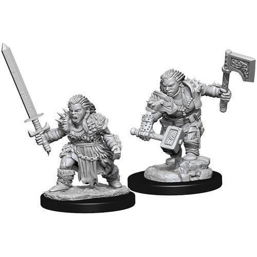 PATHFINDER BATTLES DEEP CUTS - DWARF FEMALE BARBARIAN