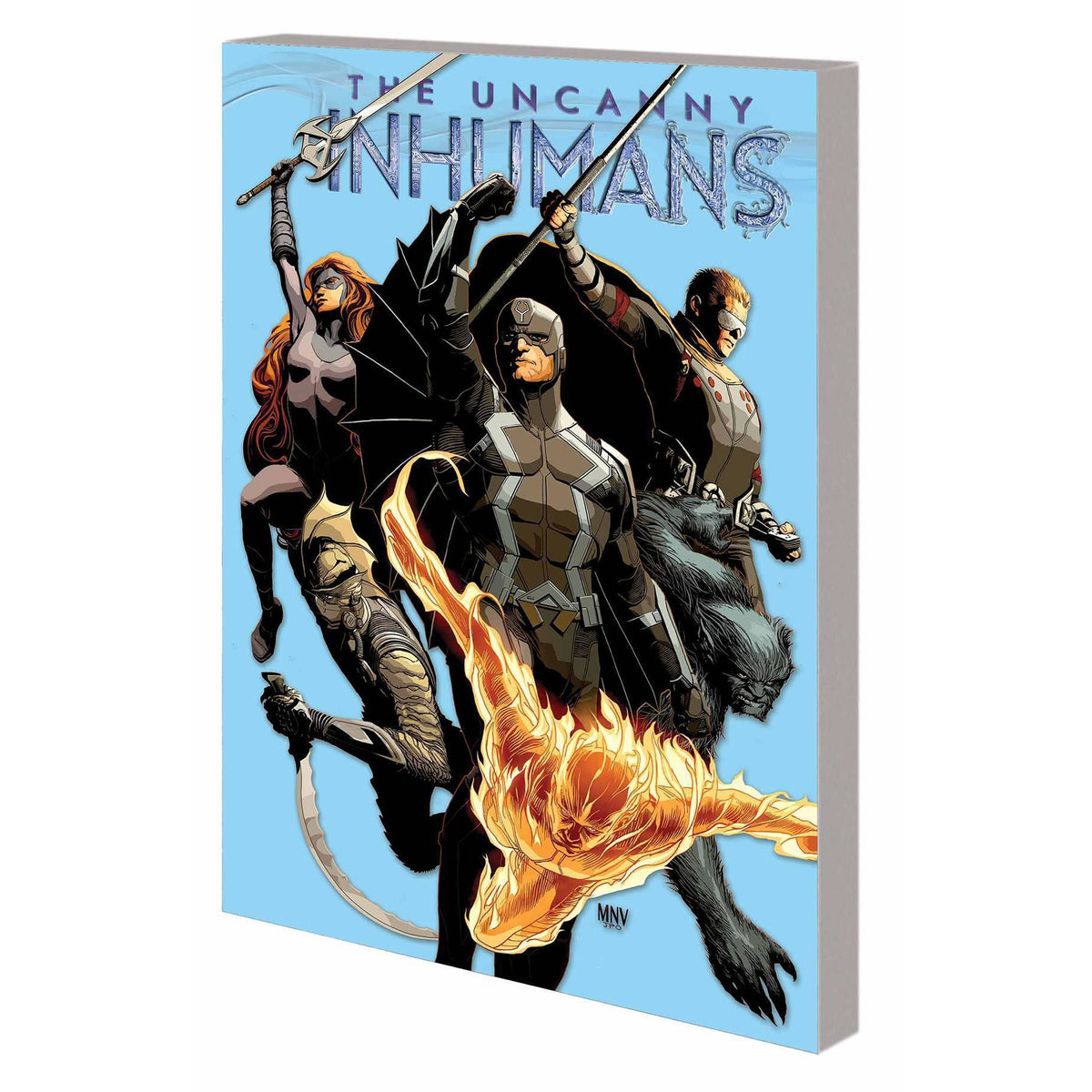 UNCANNY INHUMANS VOL 1 TIME CRUSH