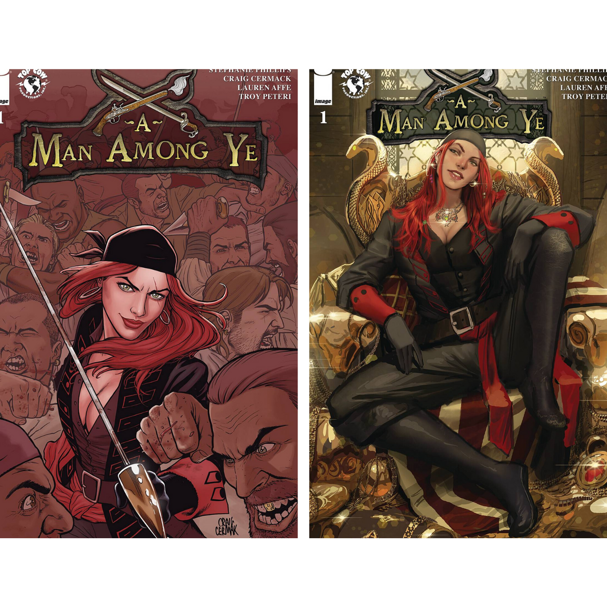 A MAN AMONG YE #1 - PICK YOUR COVER - CERMAK SEJIC - IMAGE COMICS
