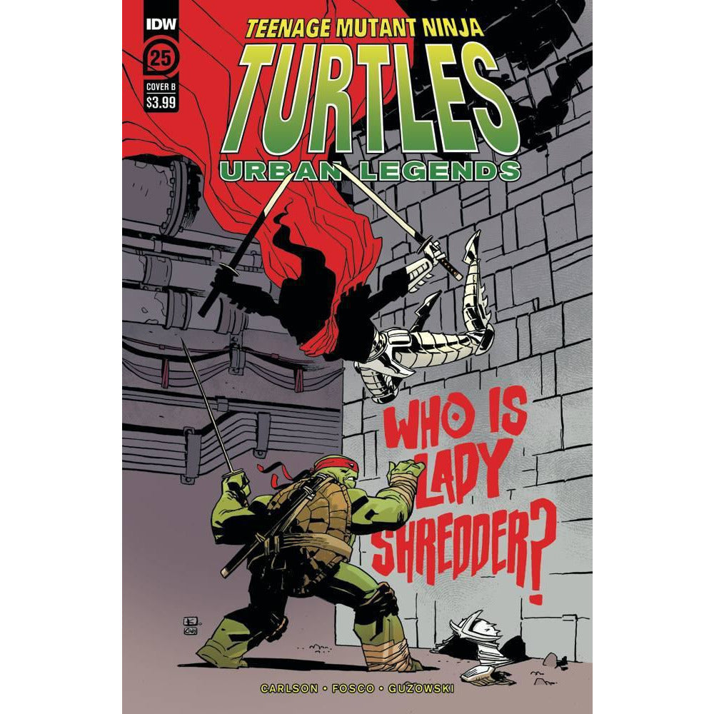 TMNT URBAN LEGENDS #25 - KUHN COVER B