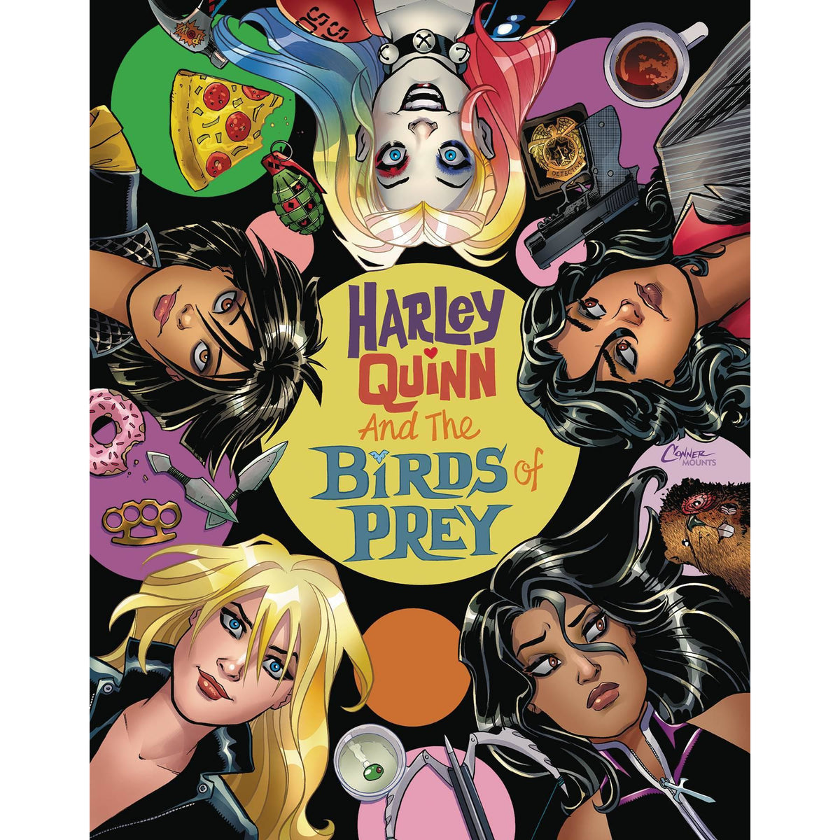HARLEY QUINN & THE BIRDS OF PREY #2 (OF 4) - CONNER MAIN COVER
