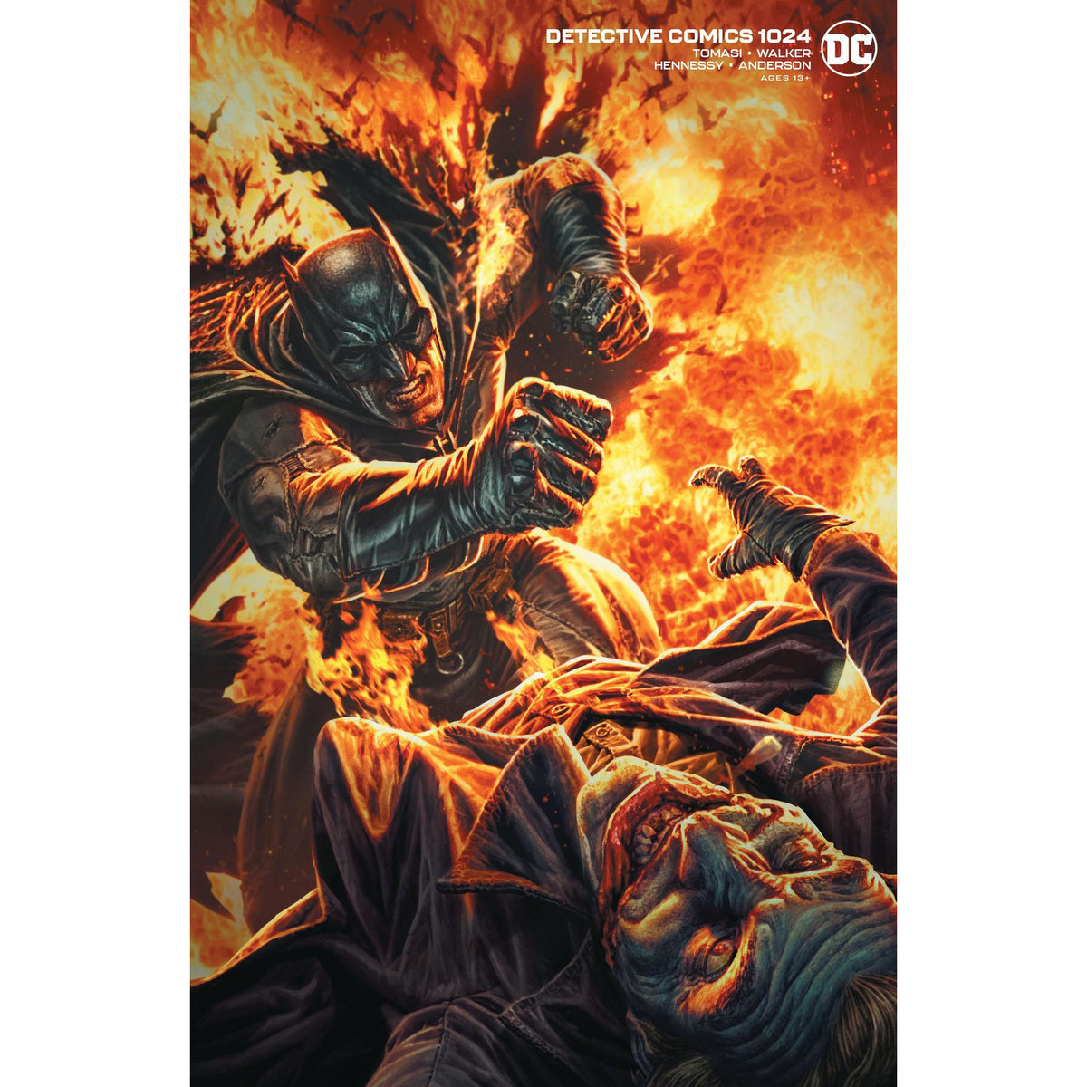 DETECTIVE COMICS #1024 - JOKER WAR CARD STOCK LEE BERMEJO VARIANT COVER B
