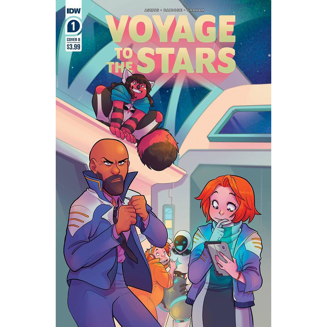 VOYAGE TO THE STARS #1 (OF 4) - COVER B DAIDONE