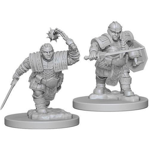 DUNGEONS & DRAGONS: NOLZUR'S MARVELOUS MINIATURES DWARF FIGHTER FEMALE