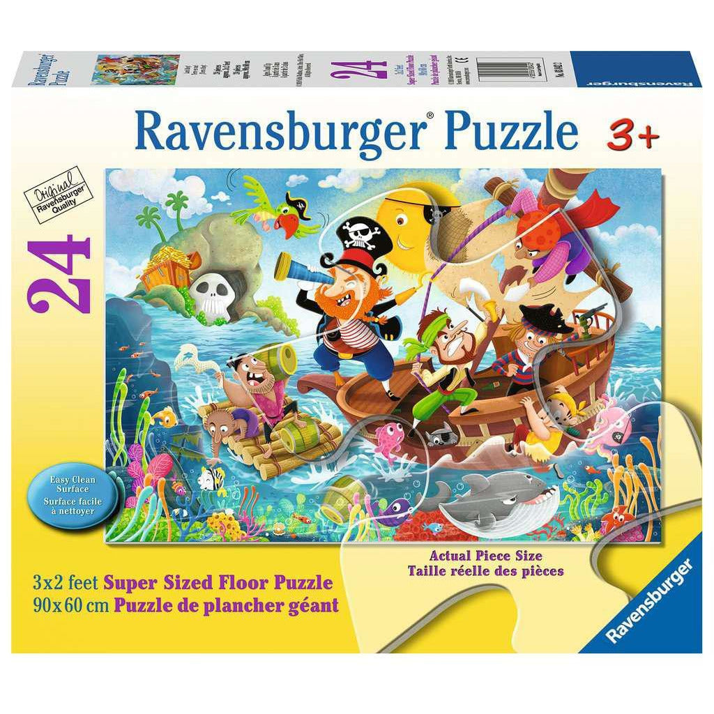 LAND AHOY! 24 PIECE FLOOR PUZZLE