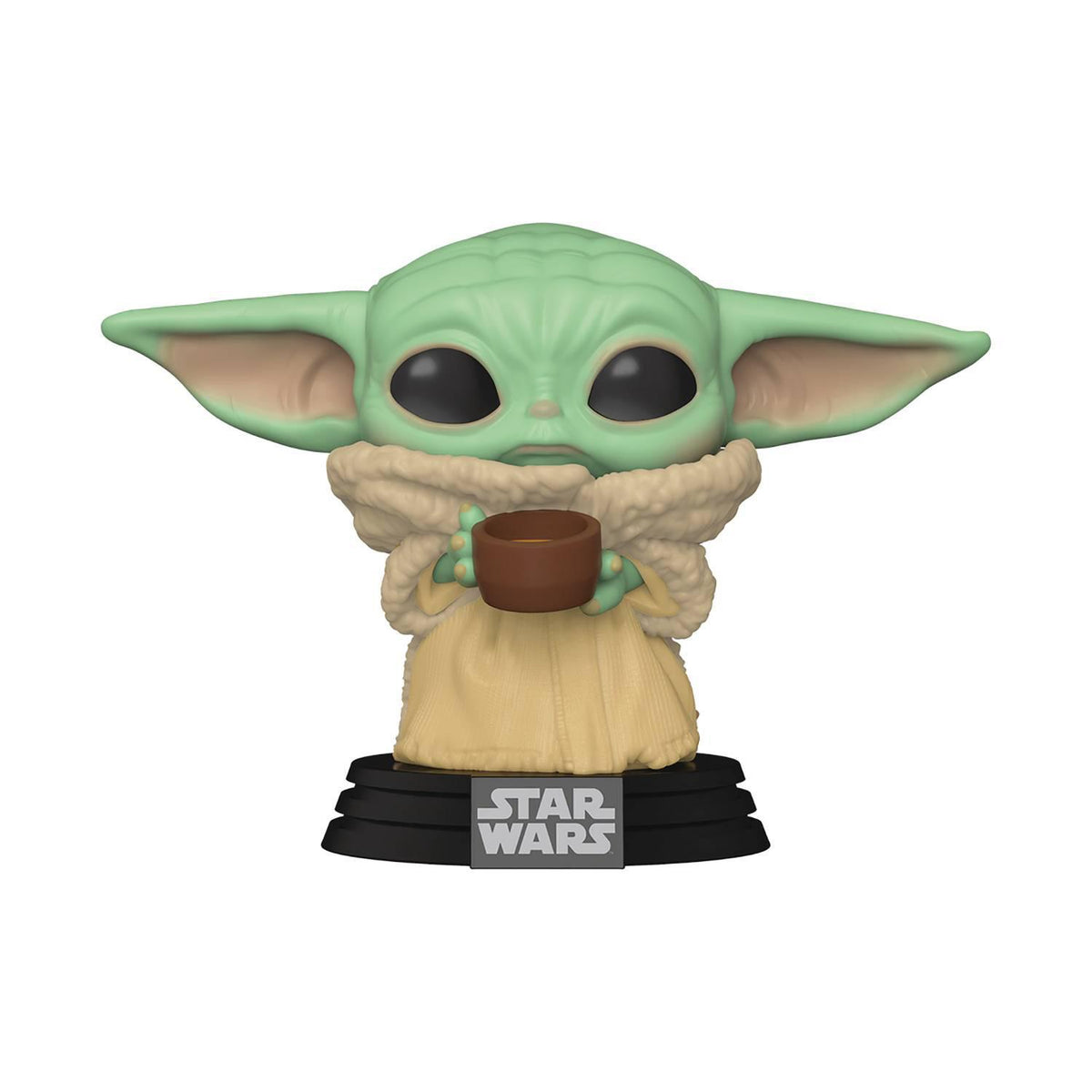 STAR WARS FUNKO POP - THE MANDALORIAN - THE CHILD WITH CUP VINYL FIGURE