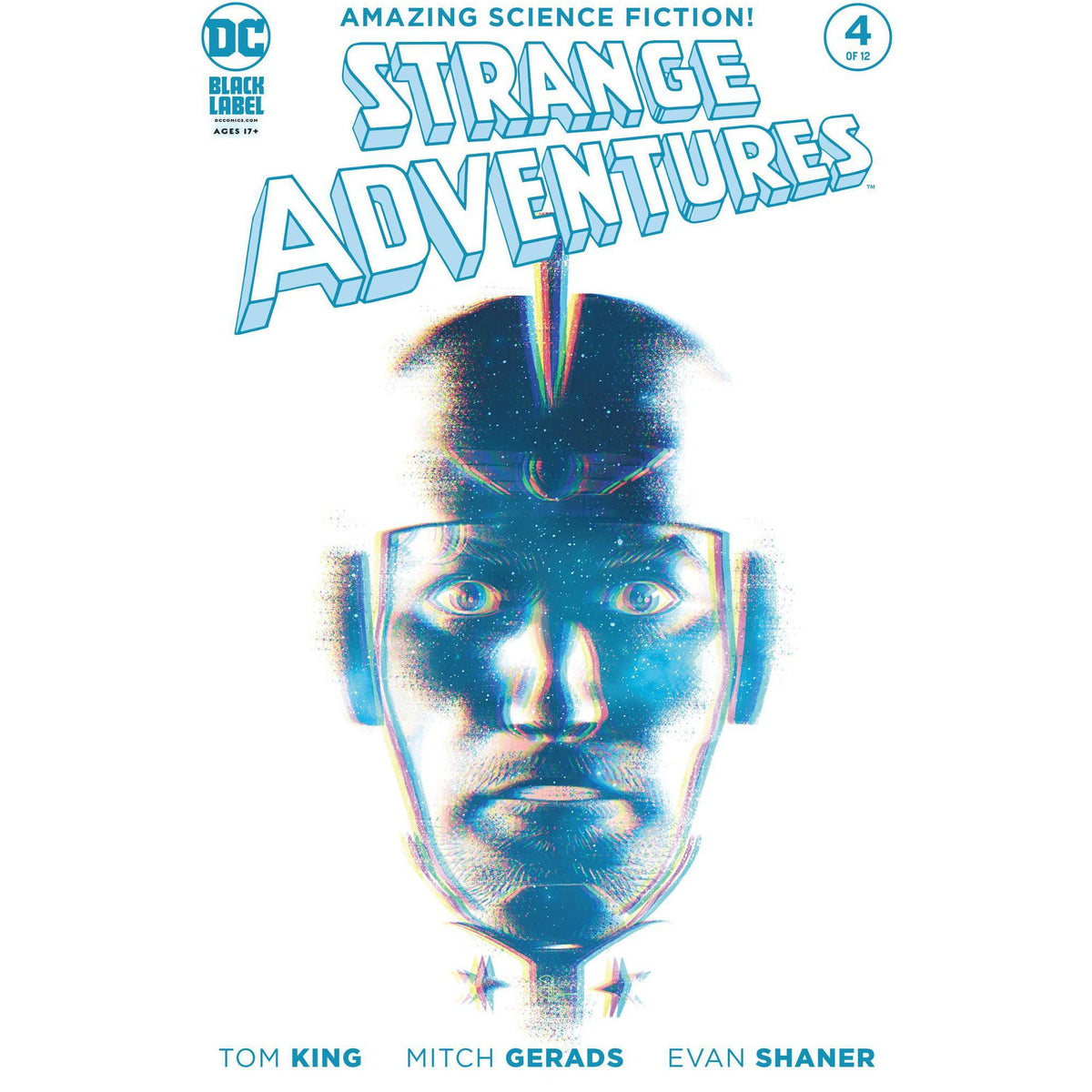 STRANGE ADVENTURES #4 (OF 12) EVAN SHANER VARIANT COVER