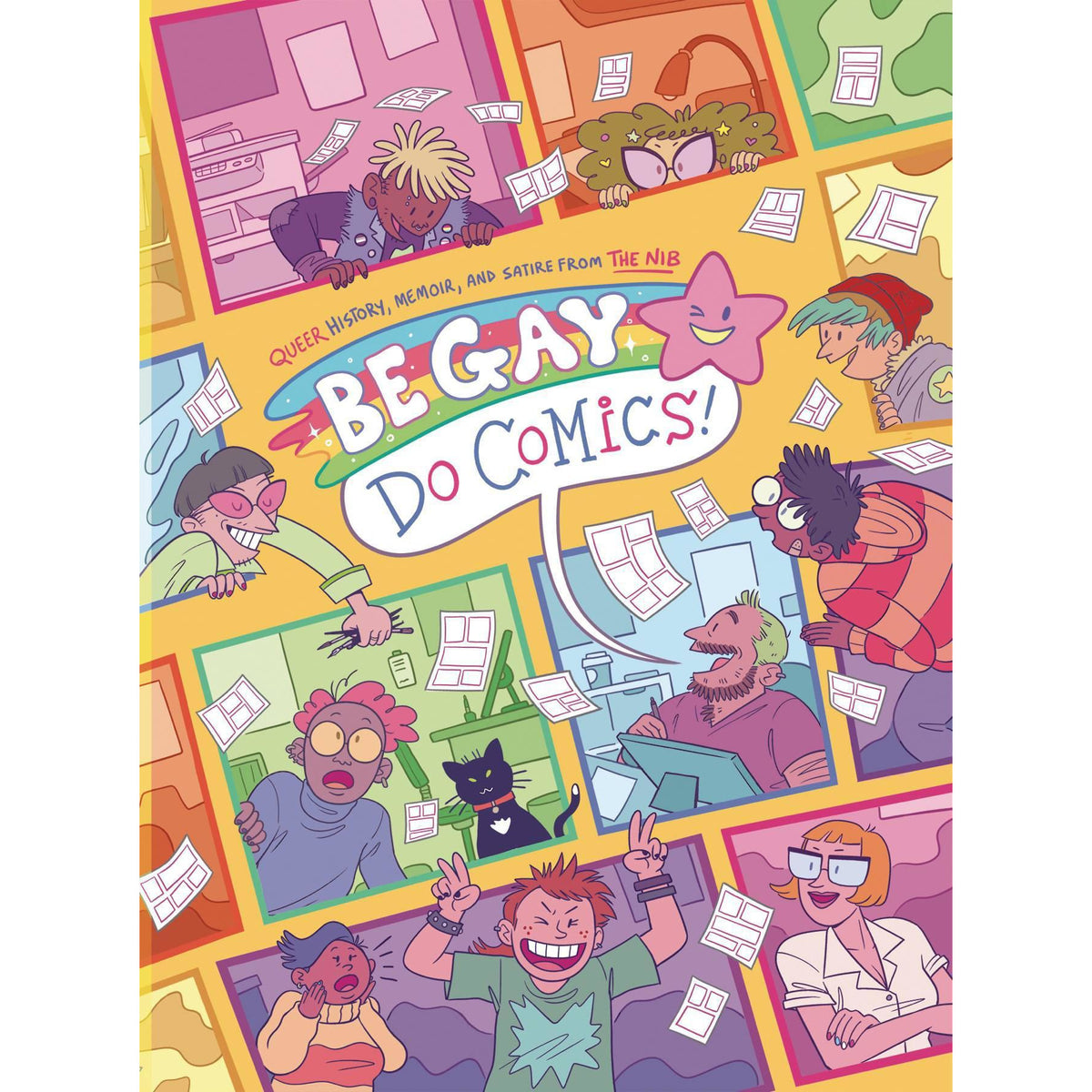 BE GAY DO COMICS - TRADE PAPERBACK