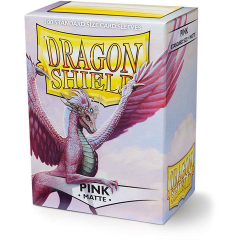 DRAGON SHIELD SLEEVES: PINK MATTE