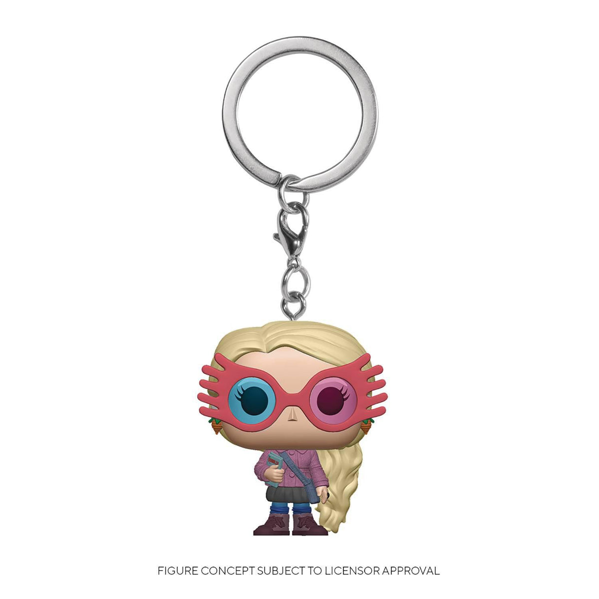POCKET POP HARRY POTTER LUNA LOVEGOOD FIG KEYCHAIN