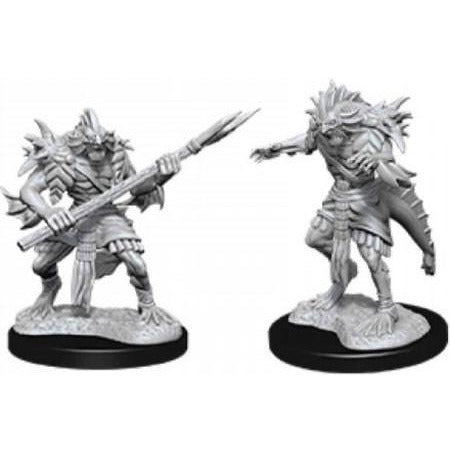 DUNGEONS & DRAGONS NOLZUR'S MARVELOUS UNPAINTED MINIATURES WAVE 12: SAHUAGIN