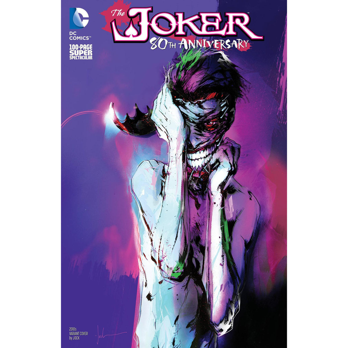 JOKER 80TH ANNIVERSARY 100 PAGE SUPER SPECTACULAR #1 2010s JOCK VARIANT COVER