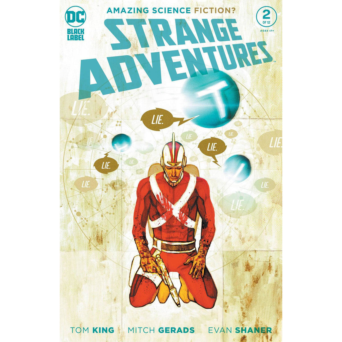 STRANGE ADVENTURES #2 - PICK YOUR COVER - GERARDS SHANER - TOM KING - DC COMICS