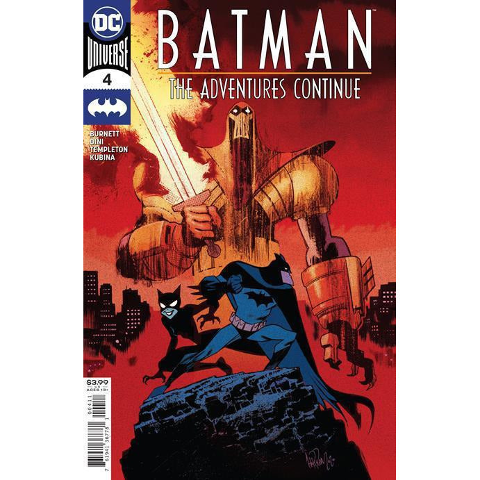 BATMAN THE ADVENTURES CONTINUE #4 (OF 7) - JAMES HARREN COVER A
