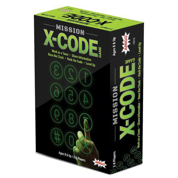 MISSION: X-CODE GAME