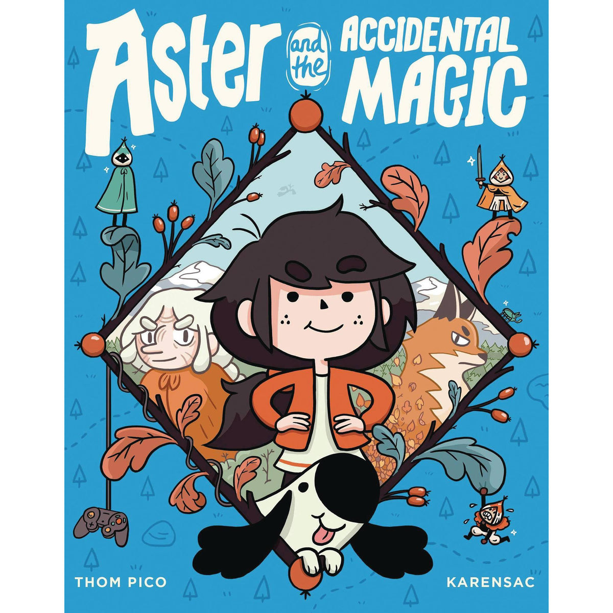 ASTER & ACCIDENTAL MAGIC: GRAPHIC NOVEL