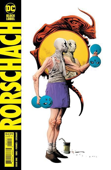 RORSCHACH #1 (OF 12) COVER B JAE LEE VARIANT