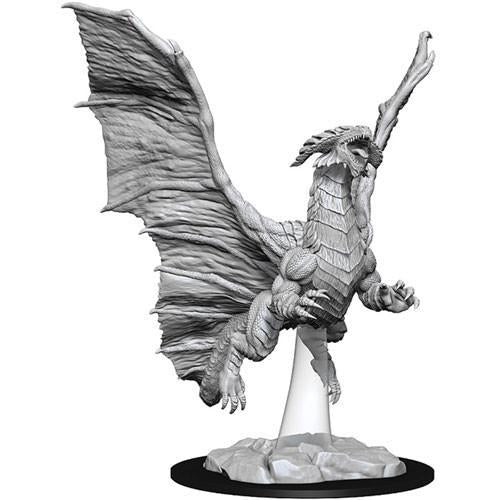 DUNGEONS & DRAGONS: NOLZUR'S MARVELOUS MINIATURES - YOUNG COPPER DRAGON