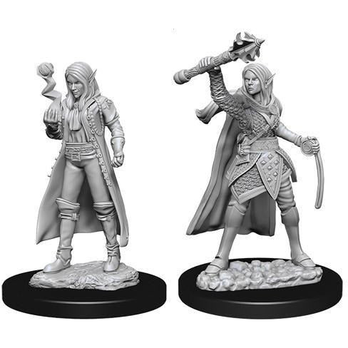 DUNGEONS & DRAGONS NOLZUR'S MARVELOUS UNPAINTED MINIATURES WAVE 10: FEMALE ELF CLERIC