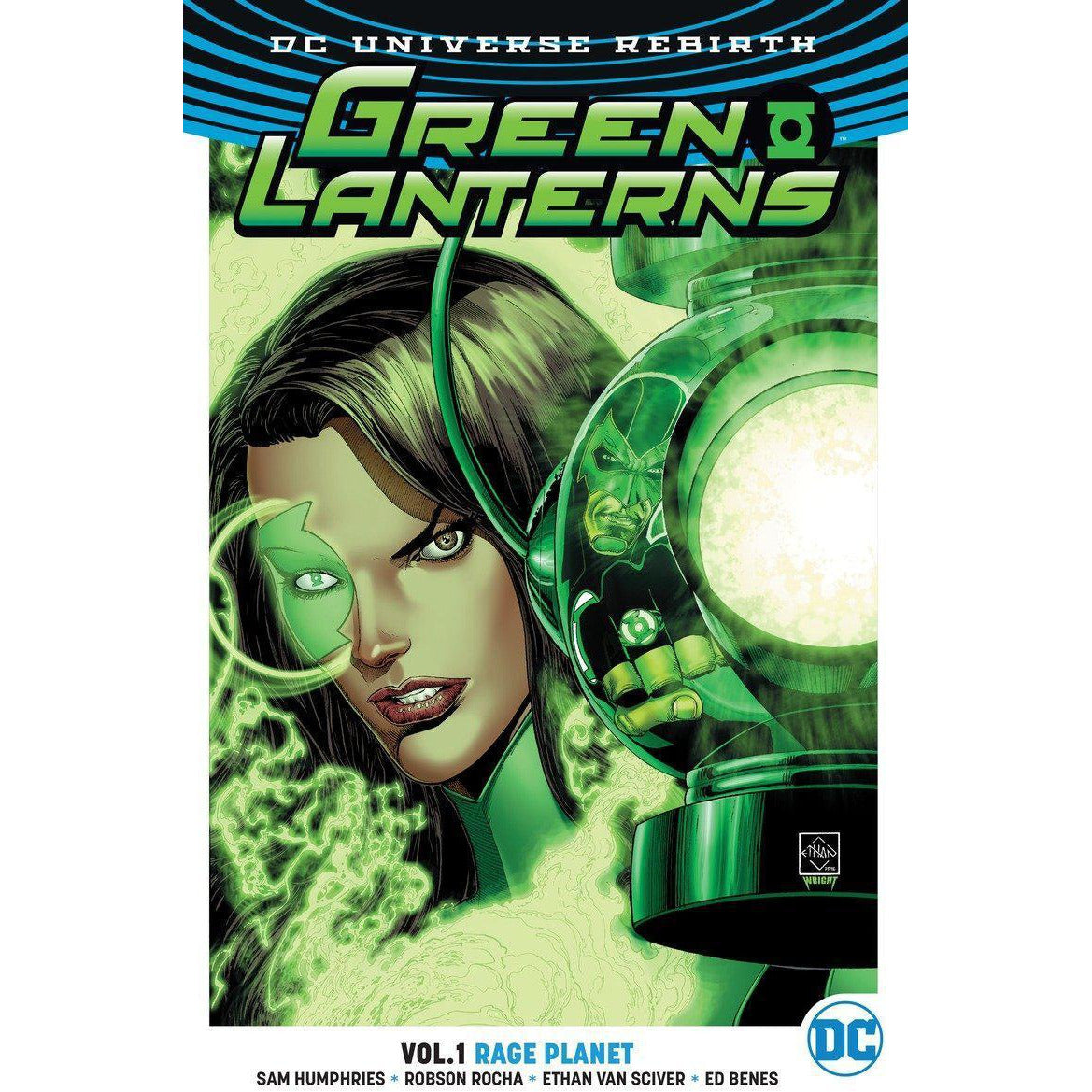GREEN LANTERNS VOL 01 RAGE PLANET