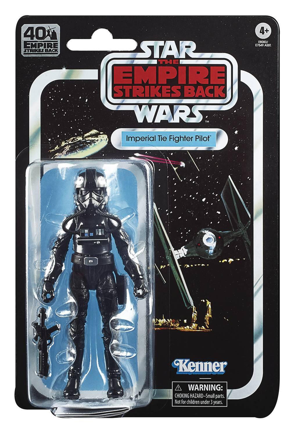 STAR WARS: THE BLACK SERIES - ESB 40TH ANNIVERSARY IMPERIAL TIE FIGHTER PILOT
