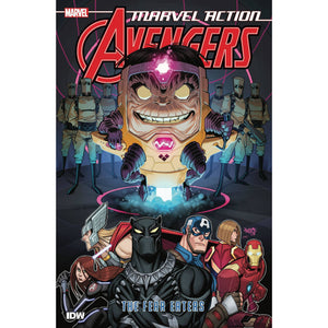 MARVEL ACTION AVENGERS BOOK 3: THE FEAR EATERS