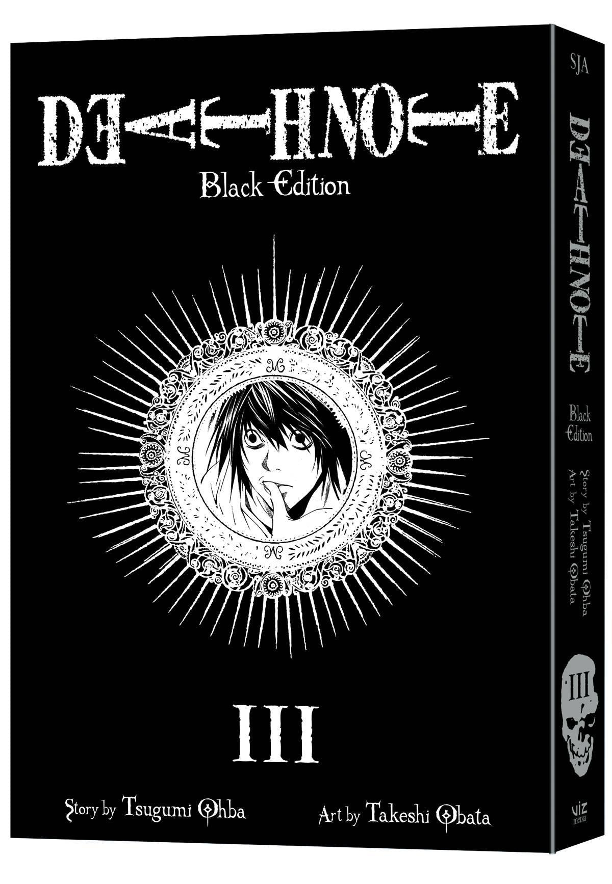 DEATH NOTE BLACK EDITION VOLUME 03