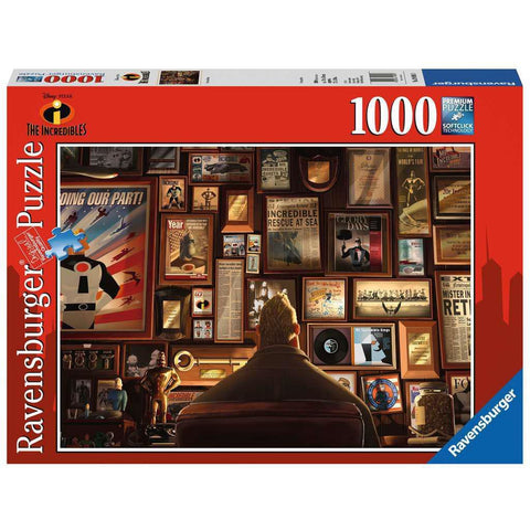 INCREDIBLES 1000 PIECE PUZZLE