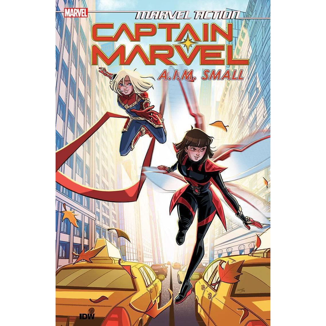 MARVEL ACTION CAPTAIN MARVEL VOLUME 02 AIM SMALL