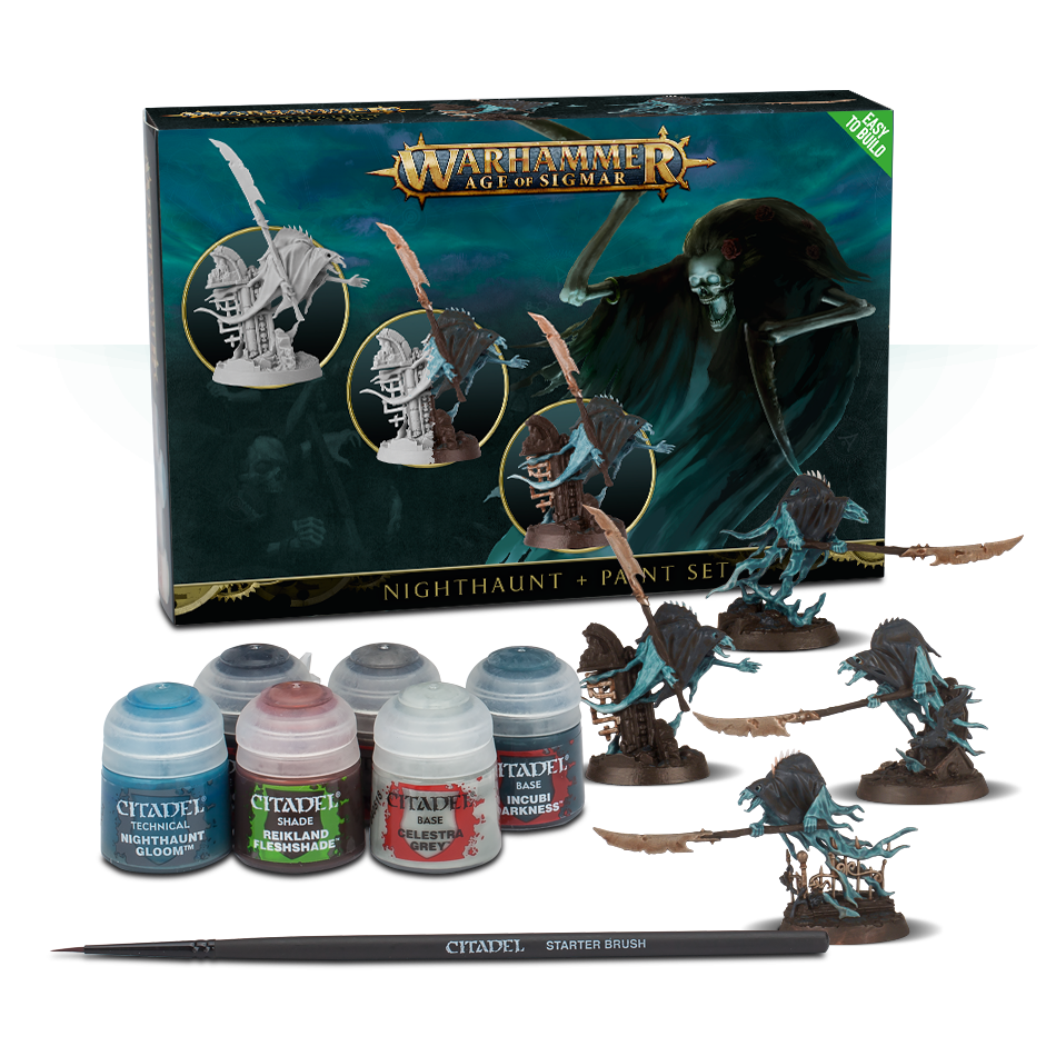 NIGHTHAUNT AND PAINT SET - WARHAMMER AGE OF SIGMAR